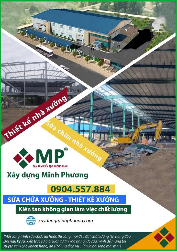 Công ty chuyên thiết kế sửa chữa nhà xưởng tại TP.Hồ Chí Minh