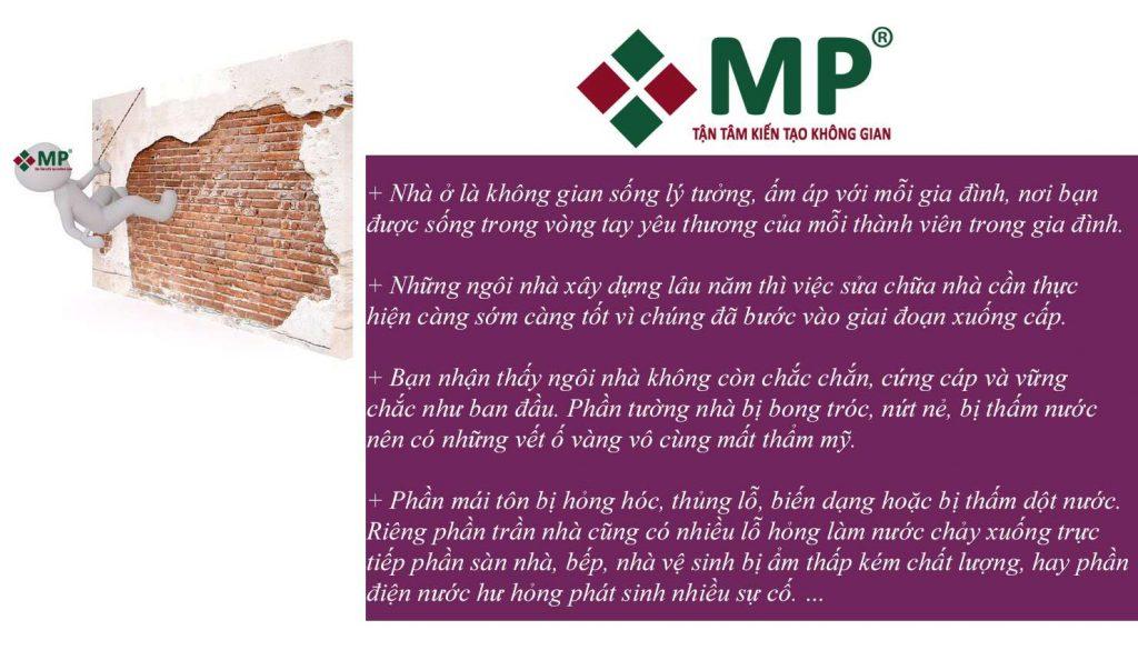 Công ty sửa chữa nhà quận Bình Thạnh
