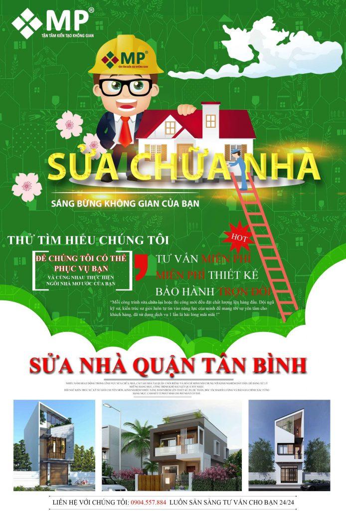 Công ty sửa chữa nhà quận Tân Bình