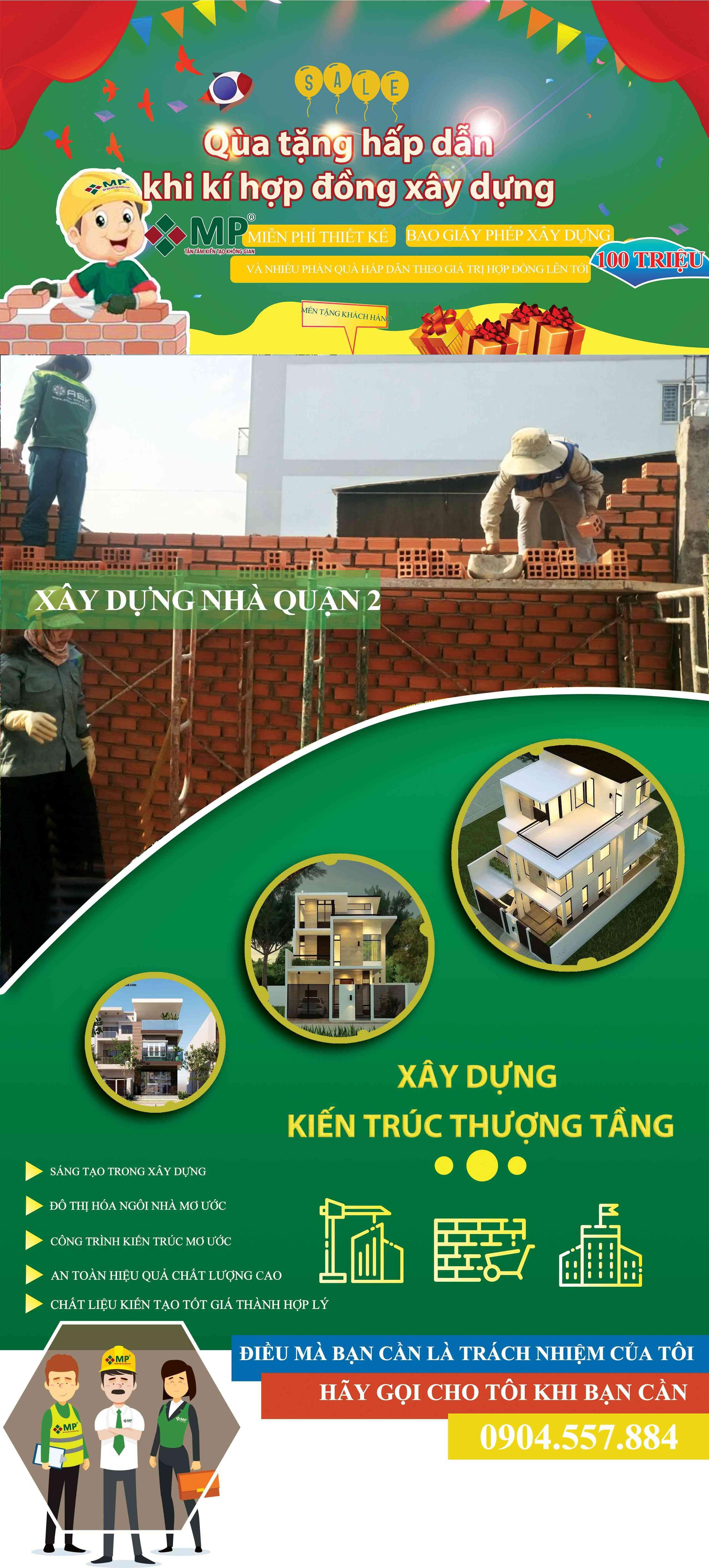công ty xây dựng nhà quận 2