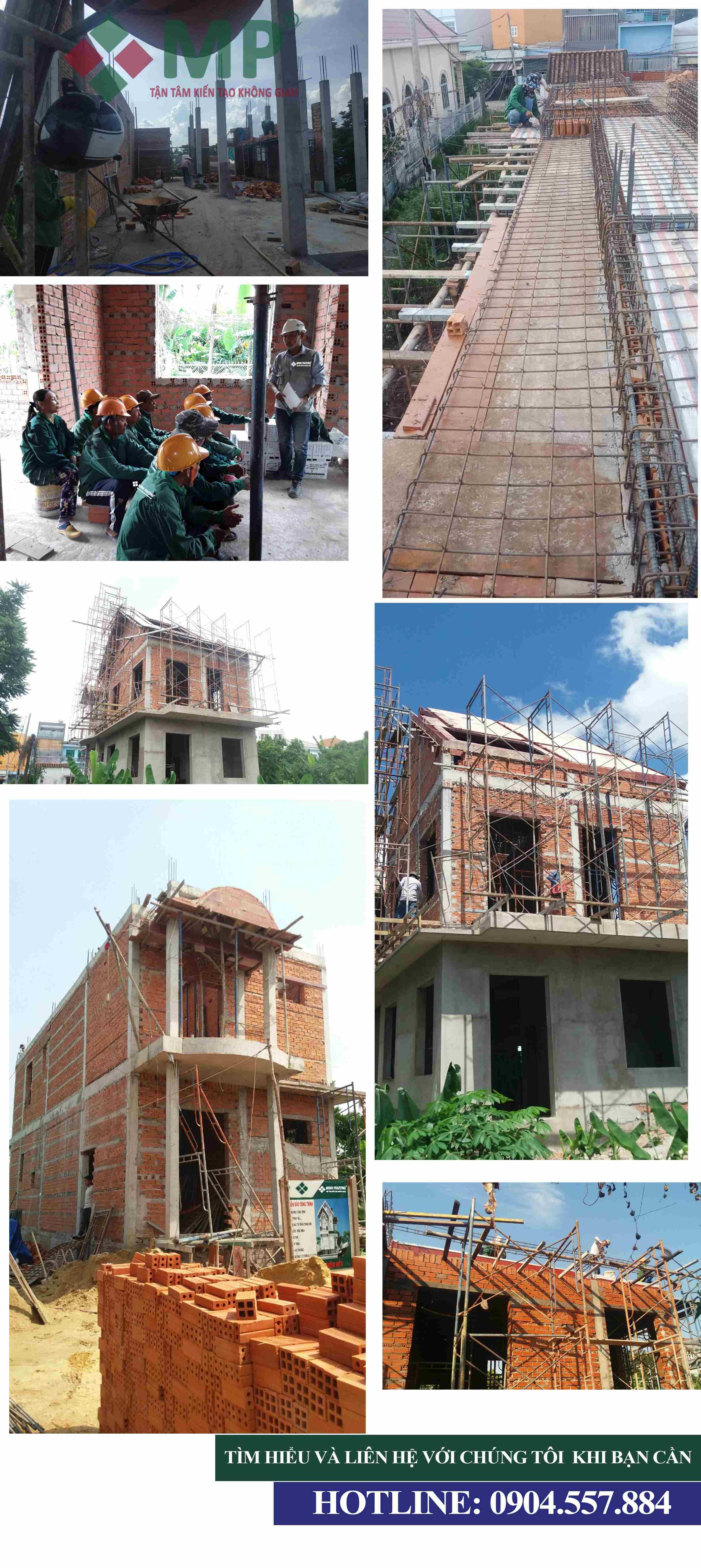 Thi công xây dựng nhà quận 11 trọn gói