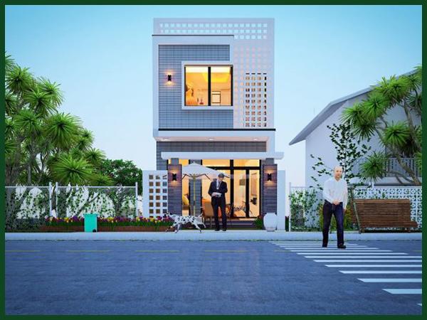 Bảng báo giá chi phí thiết kế xây dựng nhà 2 tầng 50m2