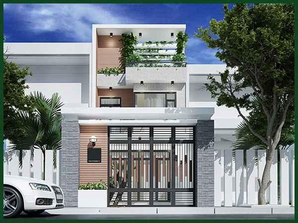 Giá xây dựng nhà 2 tầng 70m2 trong năm 2021