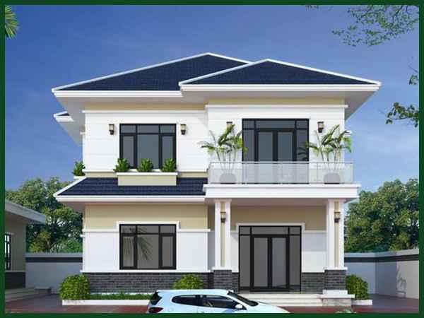 Giá xây dựng nhà 2 tầng 80m2 trong năm 2021