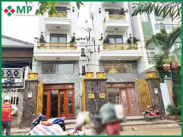 Dự án xây nhà 3 lầu nhà anh Đãng tại Làng hoa quận Gò Vấp
