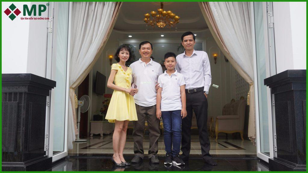 Xây dựng nhà anh Sơn huyện Hóc Môn