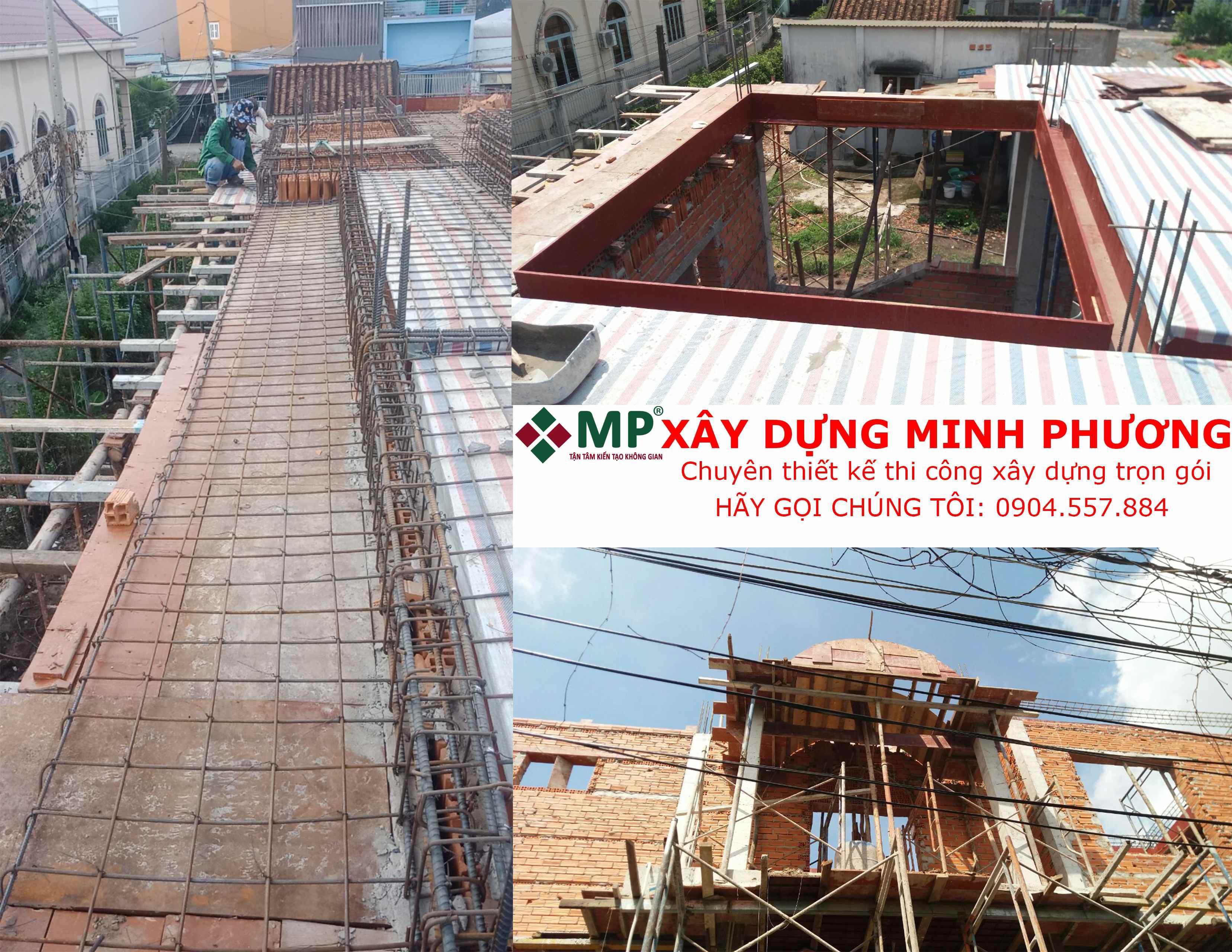 Xây dựng nhà anh Sơn quận Hóc Môn
