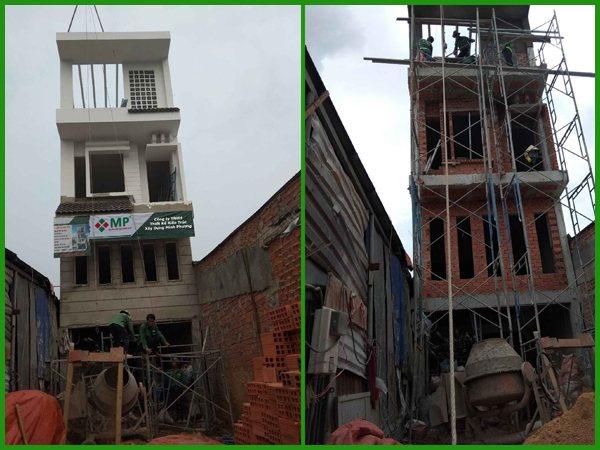 Dự án xây dựng nhà trọn gói 3 lầu chị Tâm quận Thủ Đức