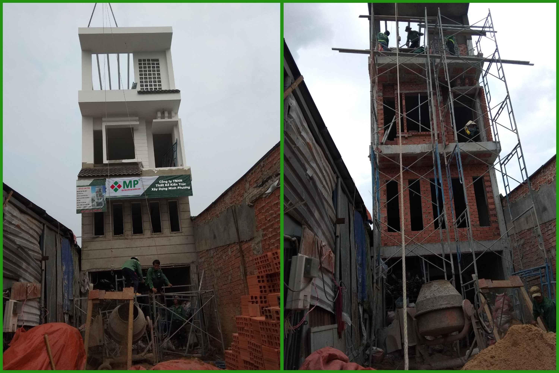 xây dựng nhà quận thủ đức của chị tâm