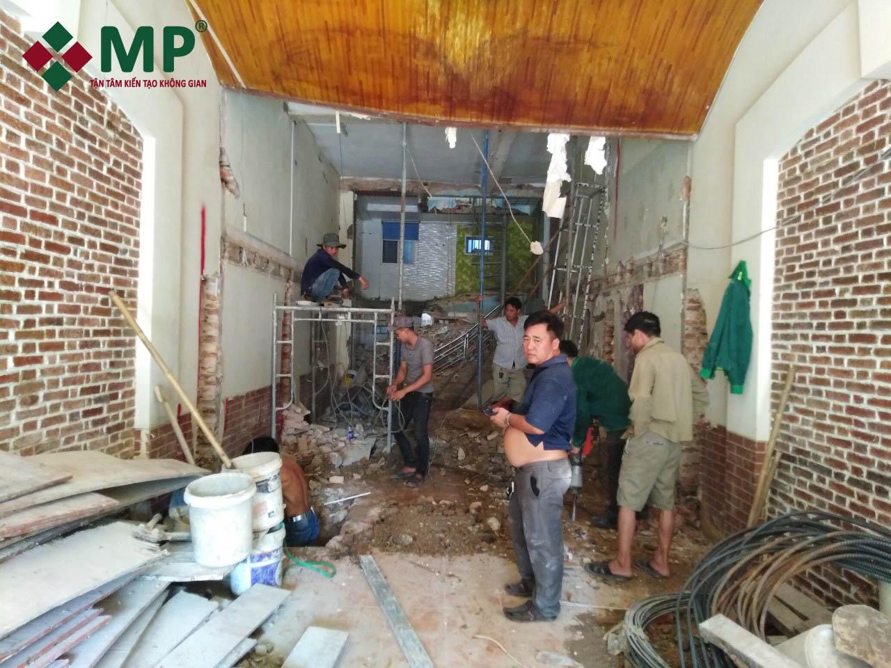 cải tạo sửa nhà nâng tầng