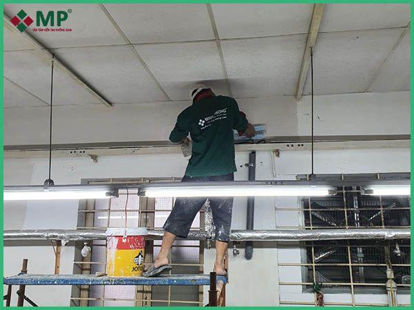 Khởi công dự án sửa chữa nhà xưởng tại Tân Bình