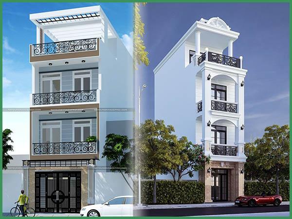 Cách tính chi phí xây nhà 5 tầng 120m2 chi tiết