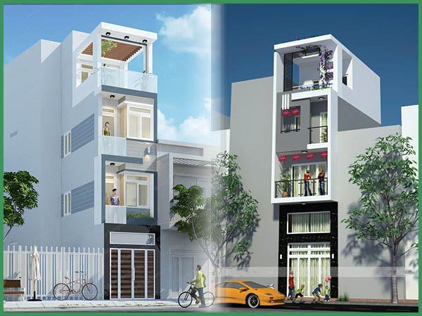 Chi phí xây nhà 6 tầng 60m2