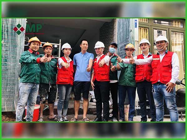 Quá Trình Tham Quan Khảo Sát Sửa Chữa Cải Tạo Nhà Anh Việt quận Gò Vấp