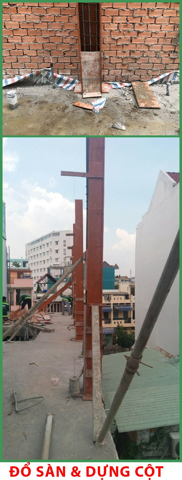 Xây dựng nhà phố 4 tầng gò vấp chị Nguyên