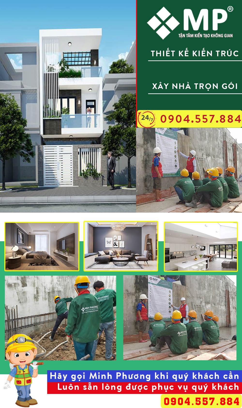 Giá xây nhà phố 2 tầng 70m2