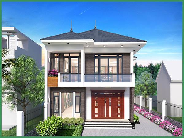 Báo giá xây dựng nhà trọn gói 2 tầng 60m2 tại TPHCM