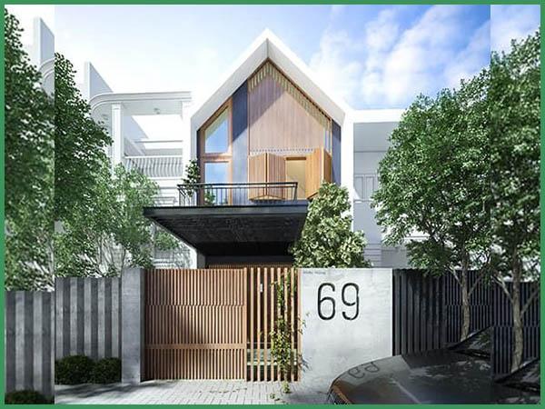 Chi tiết giá xây nhà phố 2 tầng 80m2 tại xd Minh Phương