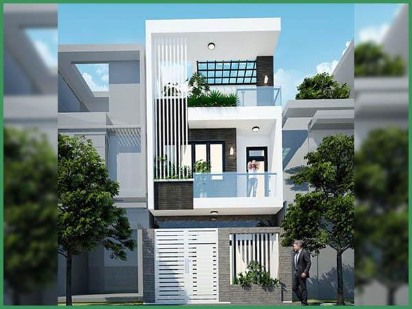 Đơn giá xây nhà 2 tầng 80m2 được tính theo tiêu chí nào?