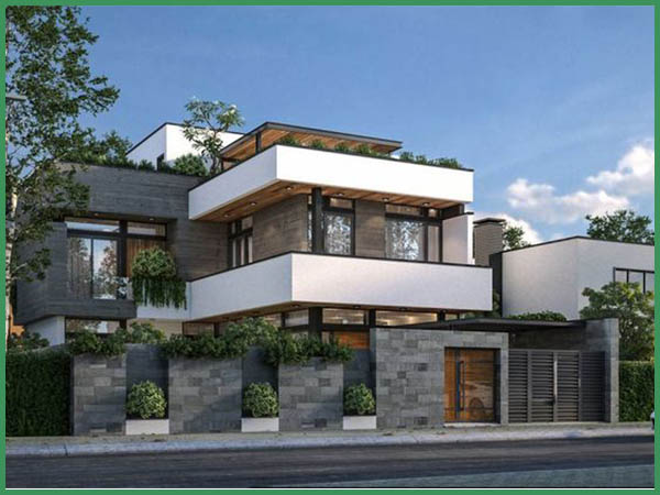 Chi phí xây nhà biệt thự 3 tầng 120m2