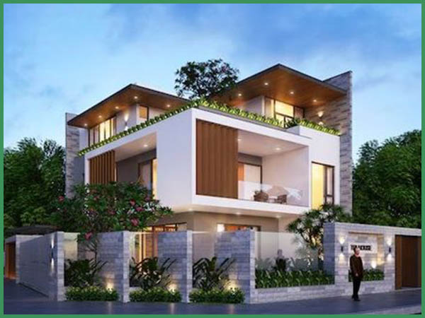 Báo giá chi phí xây nhà biệt thự 3 tầng 100m2 năm 2021