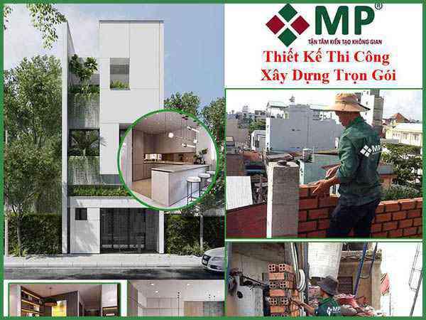 Xây dựng nhà phố 3 tầng quận Thủ Đức chị Dung 80m2