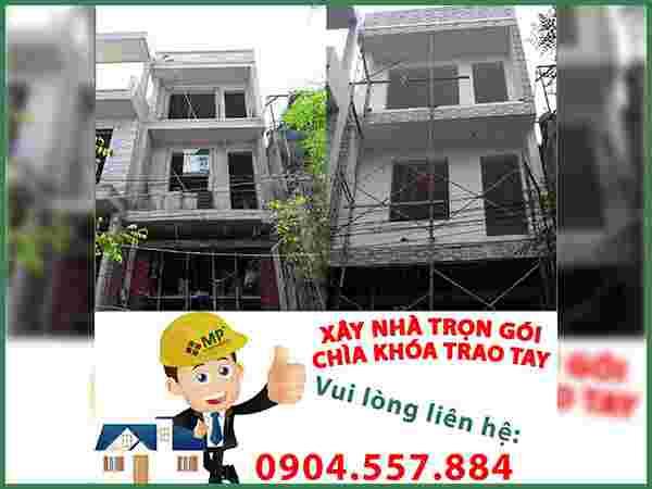 Sửa chữa nhà phố 1 trệt 1 lầu Củ Chi chị Minh