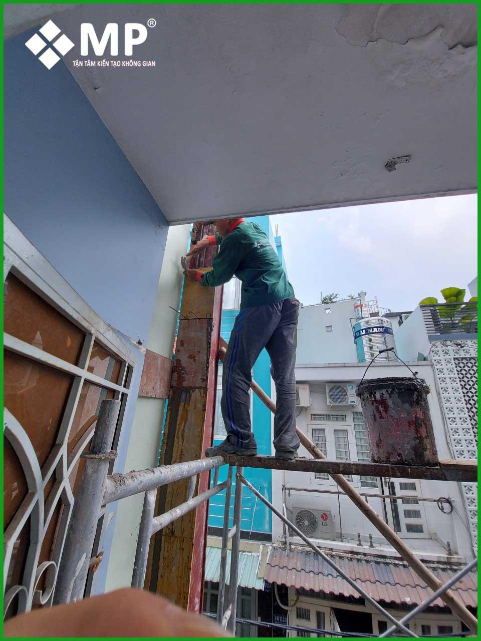 nâng tầng nhà