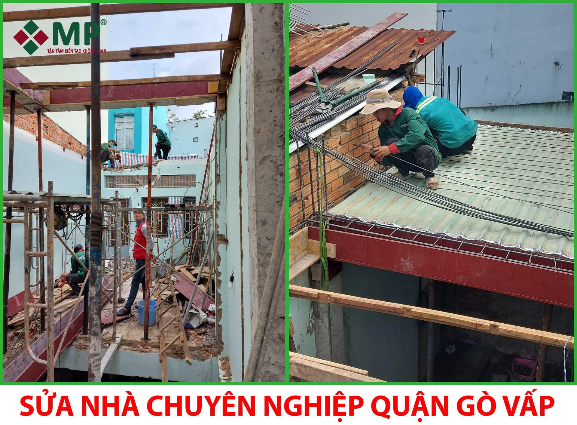 sửa nhà chuyên nghiệp quận Gò Vấp