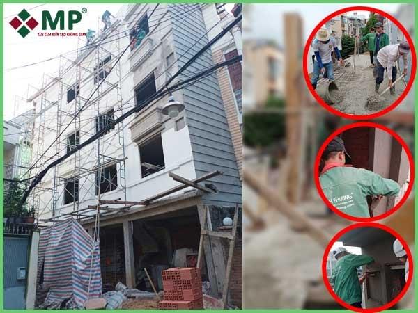 Đơn giá xây nhà trọn gói ở quận Tân Bình