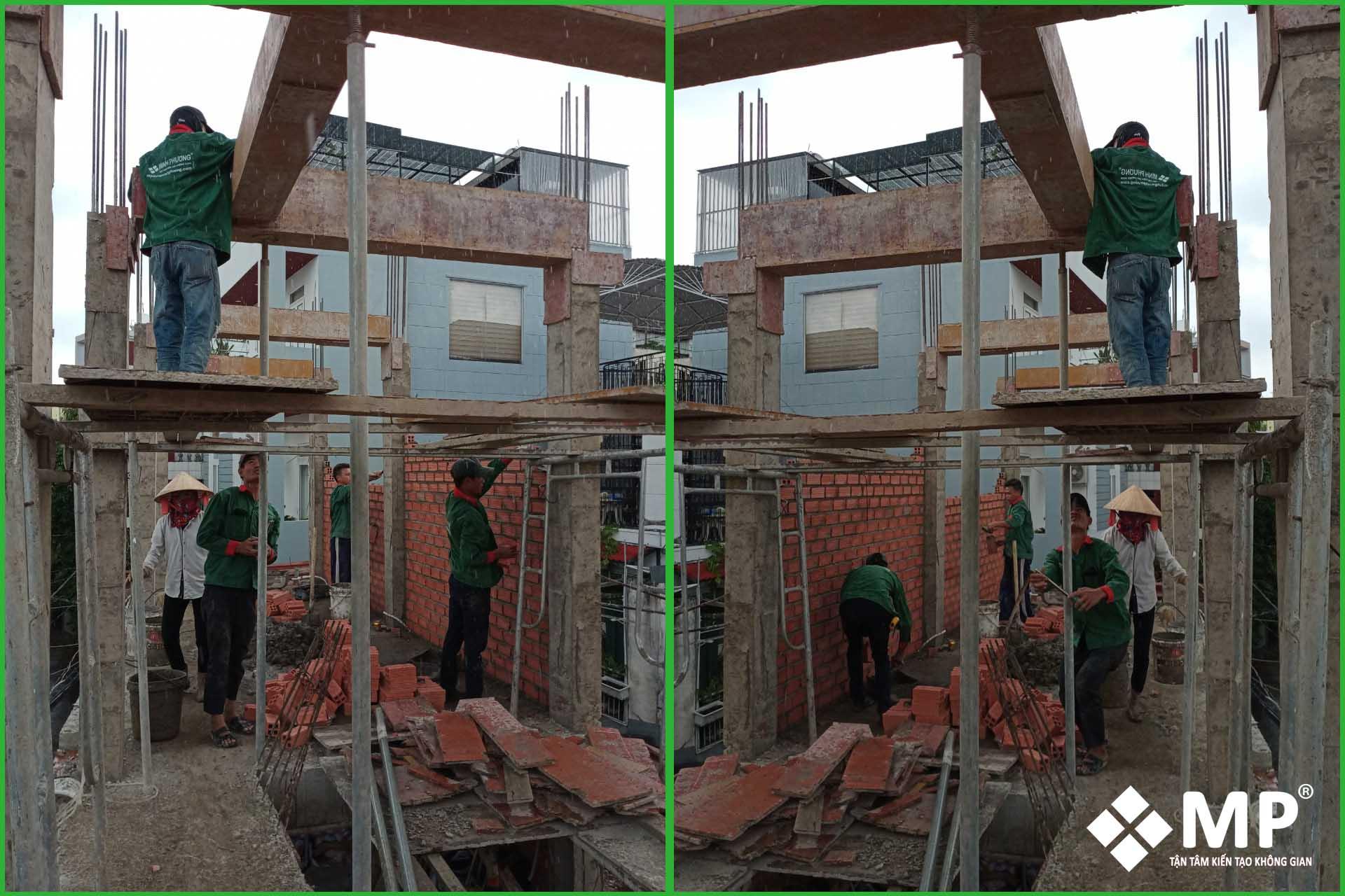 xây nhà phố trọn gói 4 tầng