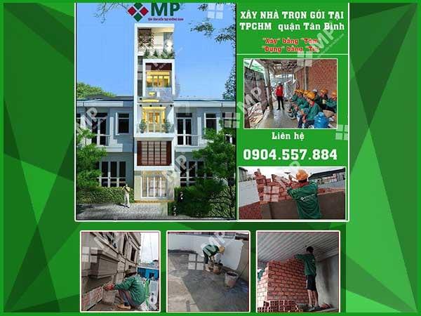 Xây Nhà Trọn Gói Ở TPHCM anh Hùng quận Tân Bình