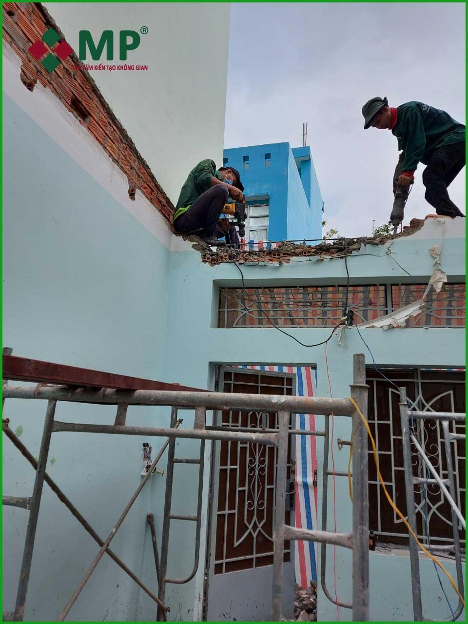 cải tạo nâng tầng nhà