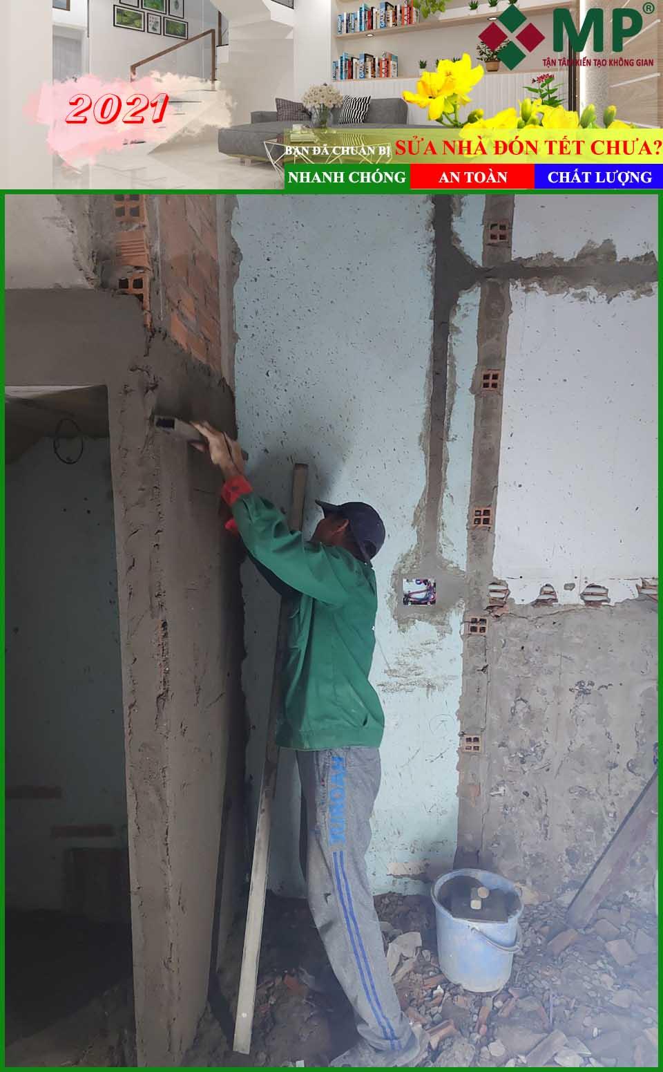 sửa chữa nhà cuối năm