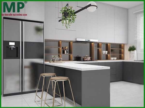 Thiết kế phòng bếp như thế nào cho hợp phong cách 2021