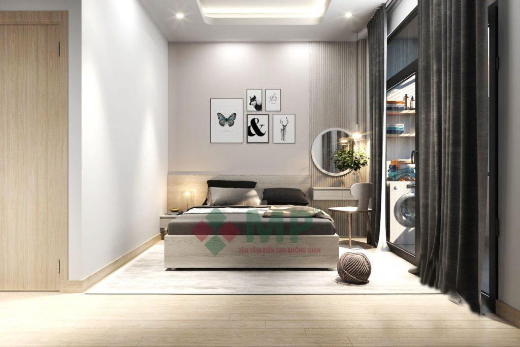 Mẫu thiết kế phòng ngủ đơn giản 2021