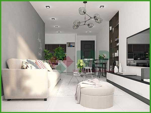 Mẫu thiết kế phòng khách cao cấp 2021