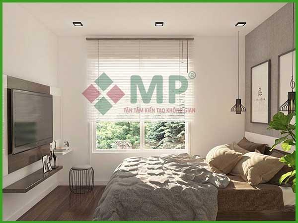 Mẫu thiết kế phòng ngủ cao cấp đơn giản