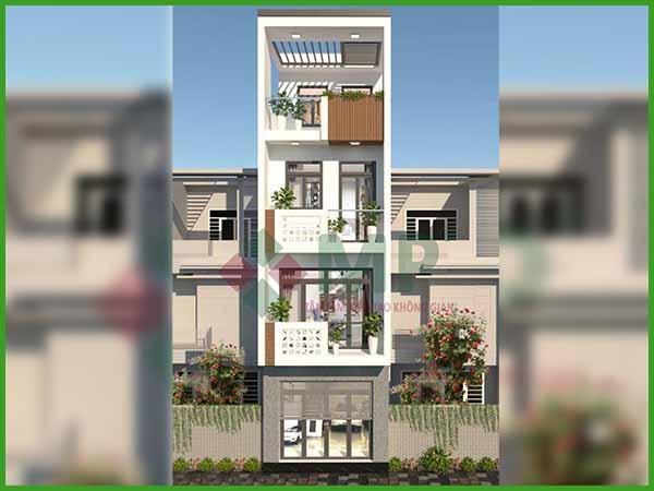 Mẫu thiết kế nhà đẹp 4 tầng trong năm 2021