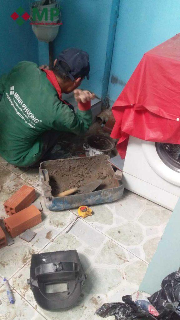 thi công cải tạo vệ sinh nhà tắm