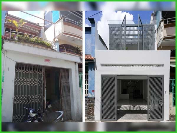 Sửa chữa nhà phố 2 tầng tại Sài Gòn không khác gì khách sạn với chi phí cực rẻ