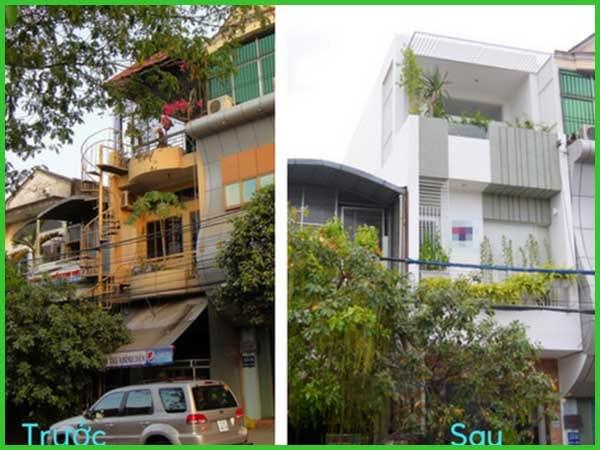 Ngôi nhà 3 tầng thay đổi hoàn toàn khác biệt sau khi sửa chữa