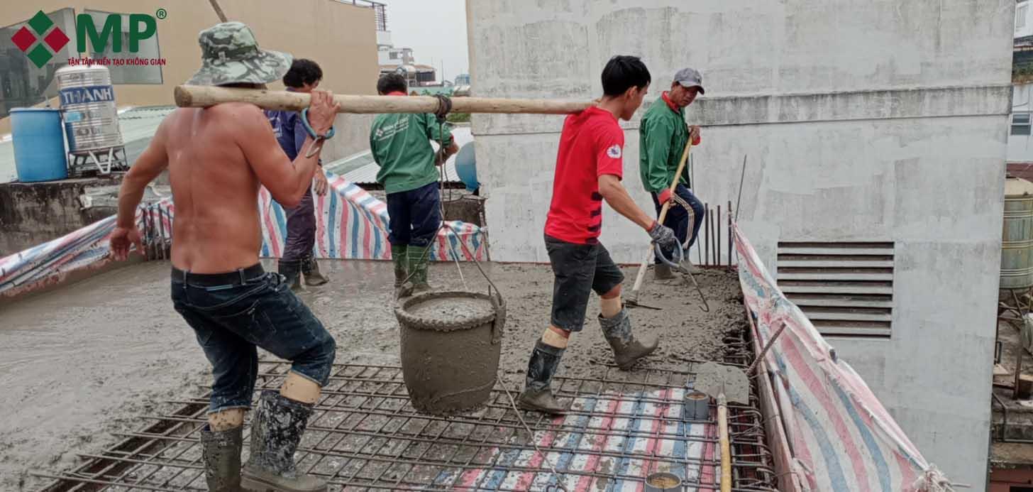 thi công xây nhà trọn gói
