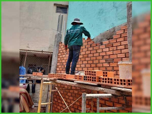 Cập nhập tiến độ thi công xây nhà trọn gói anh Phú quận 12