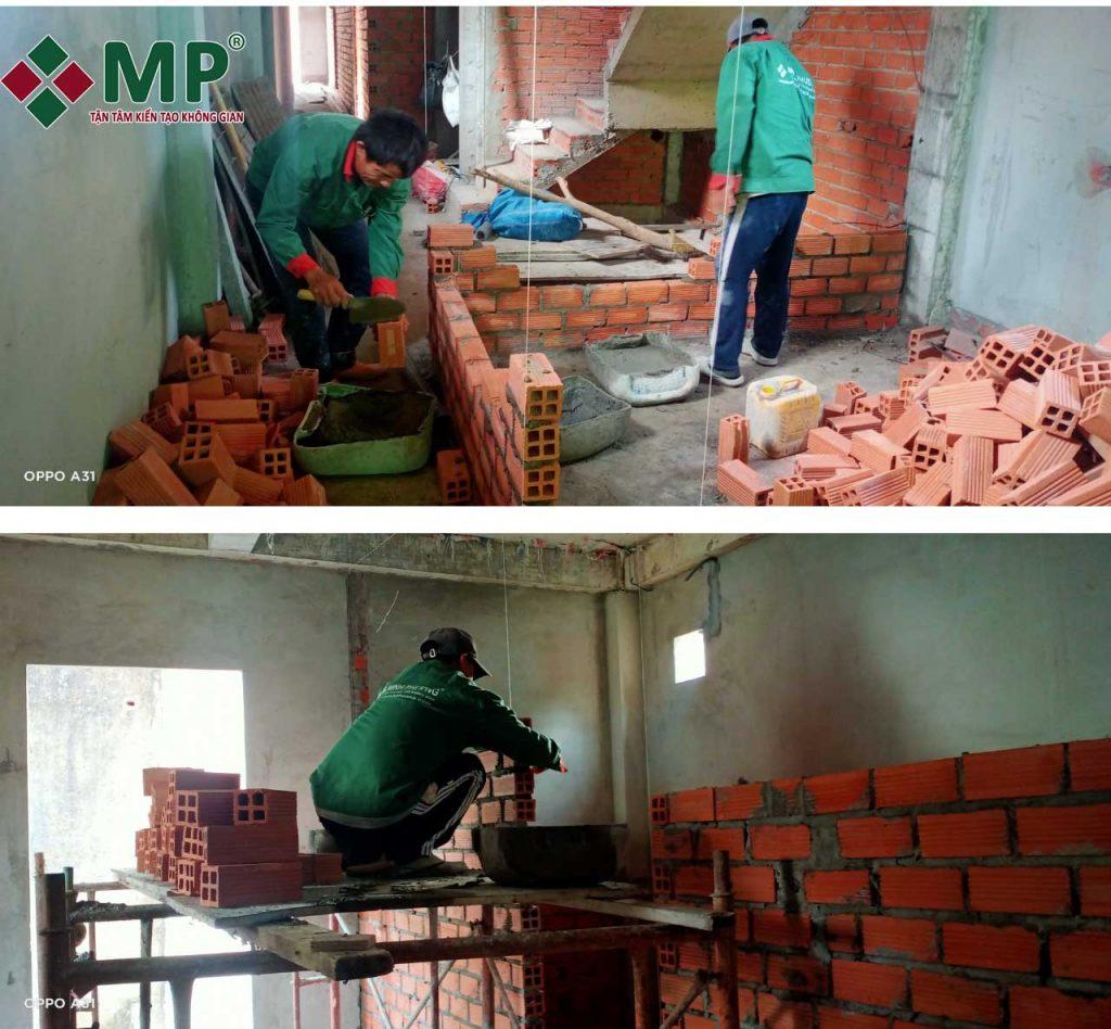 xây nhà trọn gói anh trung q3