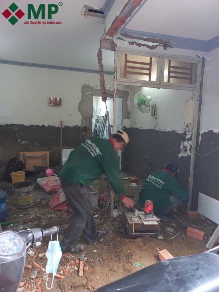 quy trình sửa nhà cấp 4