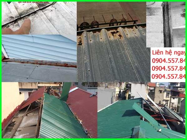 Sửa nhà mái tôn tại tphcm
