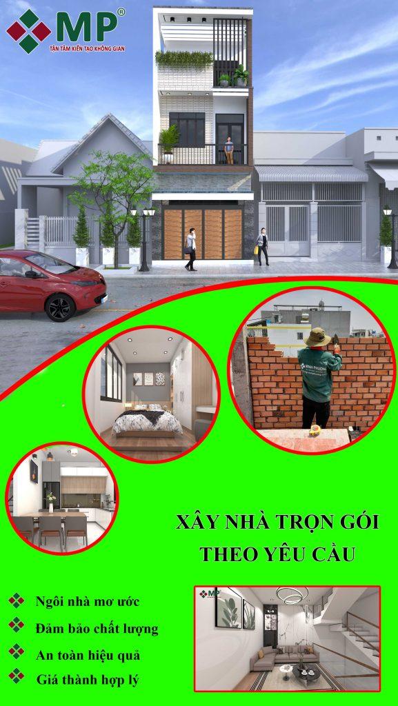 thiết kế xây nhà trọn gói theo yêu cầu