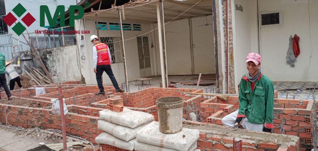 xây trọn gói nhà phố