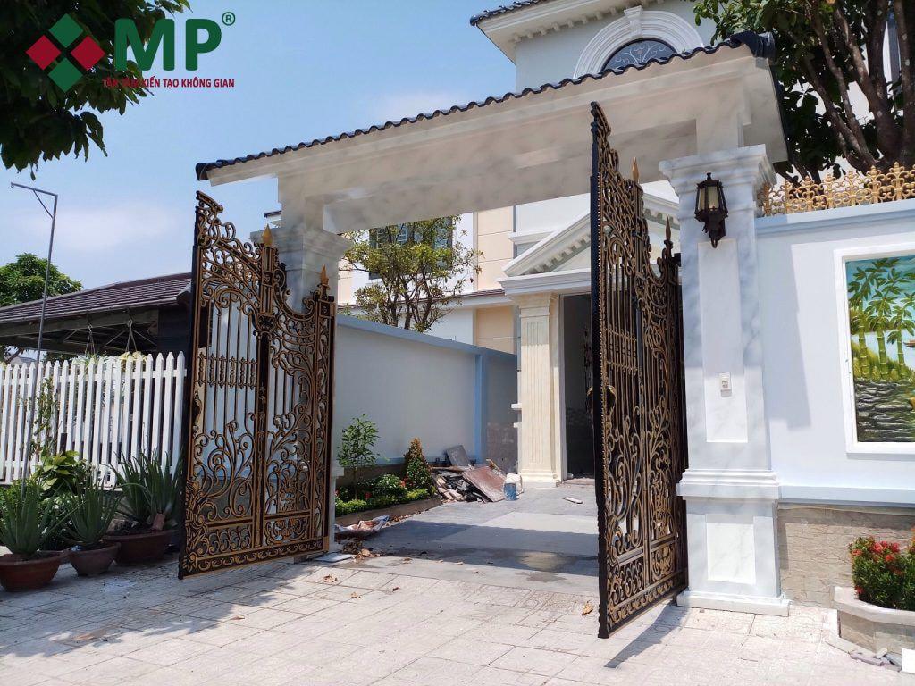 phong thủy cổng nhà